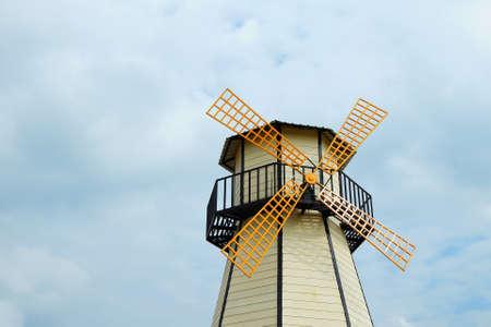 fancy windmill Stock Photo - 11563196