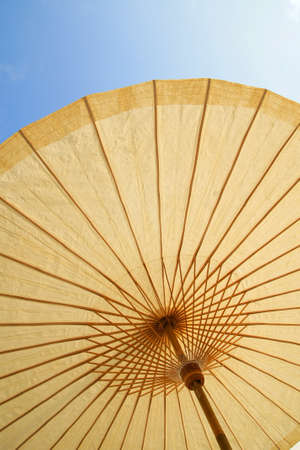 Detail of umbrella with Thai ornament Stock Photo - 11563192