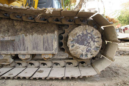 Bulldozer Tread Stock Photo - 11804642