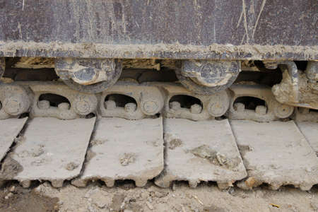 Bulldozer Tread photo