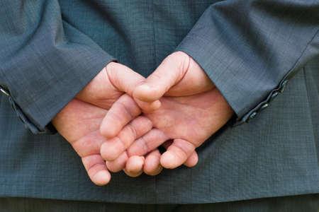 hand of Businessman Stock Photo - 12397842
