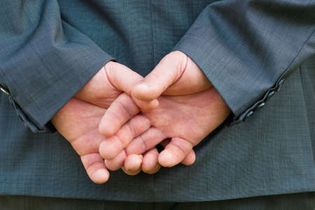 hand of Businessman Stock Photo - 12397842