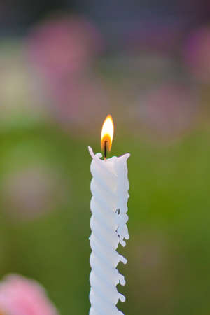 lowbrow:  candle