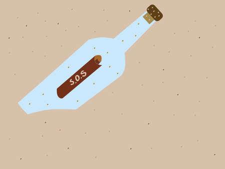 castaway: Message in a bottle