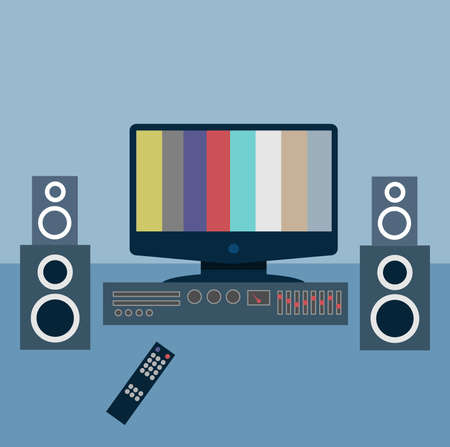 Television Stock Vector - 21023094