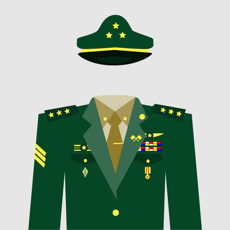 general:  uniform Illustration