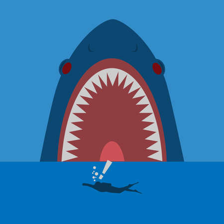shark hunter the diver