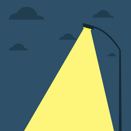 Street Lights Illustration