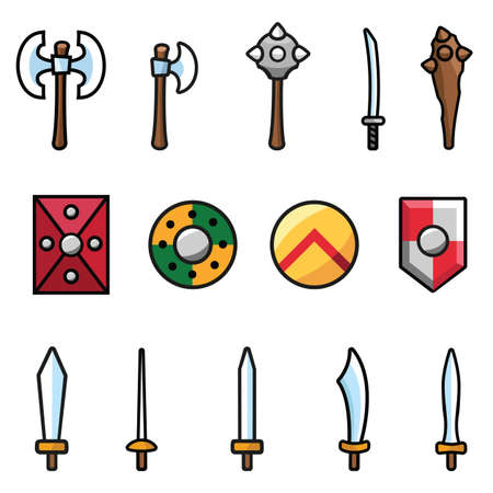 fencing foil: Arms and Shields Illustration
