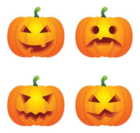 Pumpkins Illustration
