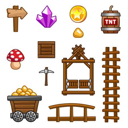 Gold mine assets