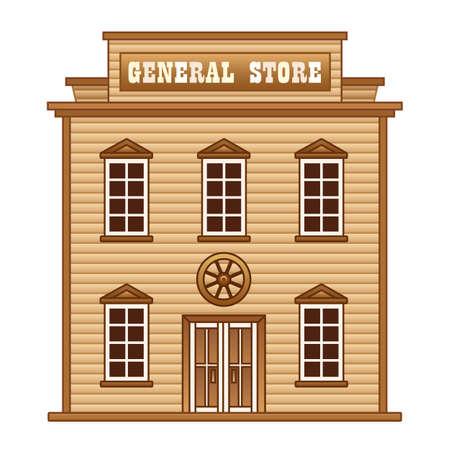 Wild West general store
