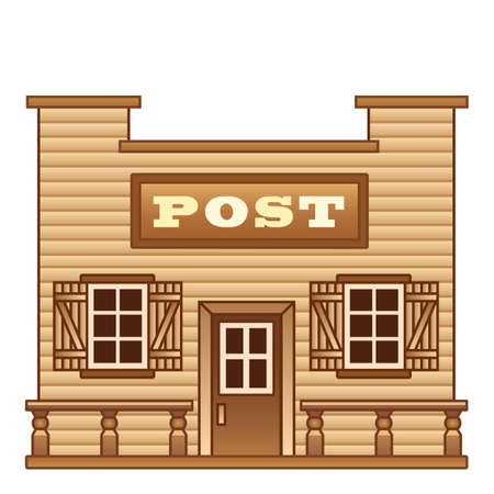 post office: Oficina de Wild West Mensaje