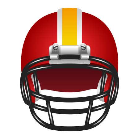 american football: Football helmet