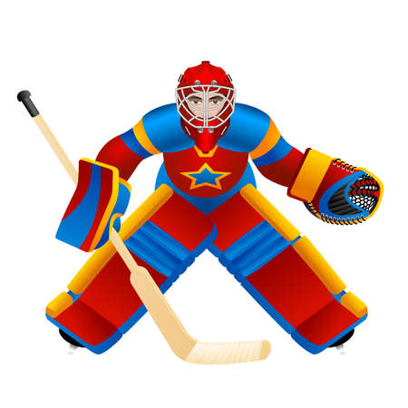 Goalie Vector