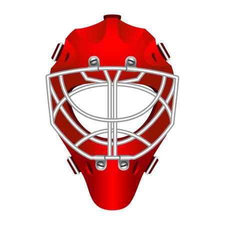 Goalie helmet Stock Vector - 24544036