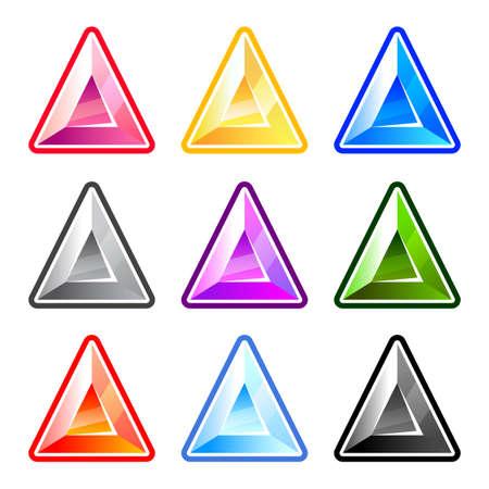 Colorful Triangle Diamonds