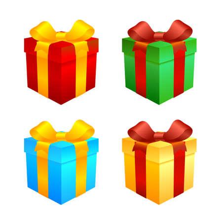 blue box: Gift boxes