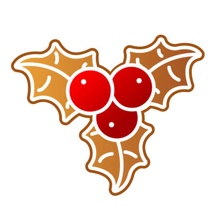 Gingerbread Holly Berry