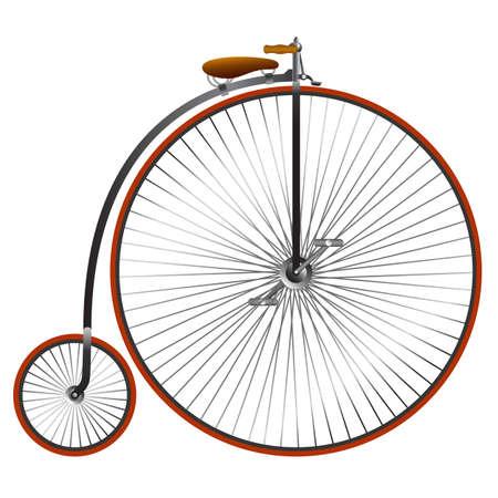 Weinlesefahrrad Illustration