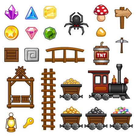 locomotora: Los activos de la mina