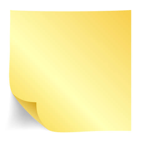 paper note: Yellow paper note