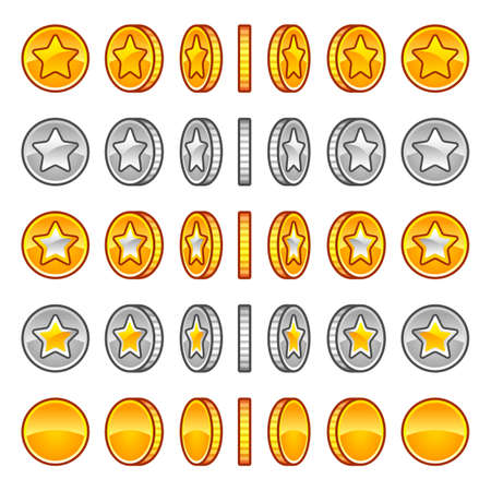 golden coins: Star coins rotation