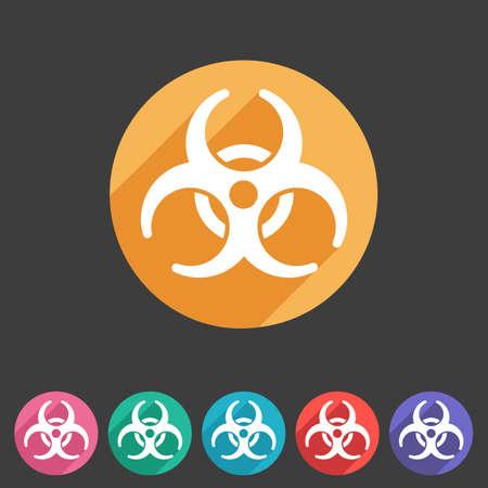 biohazard: Biohazard plat ic�ne insigne