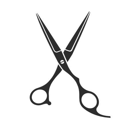 barber scissors: Vintage barber shop scissors