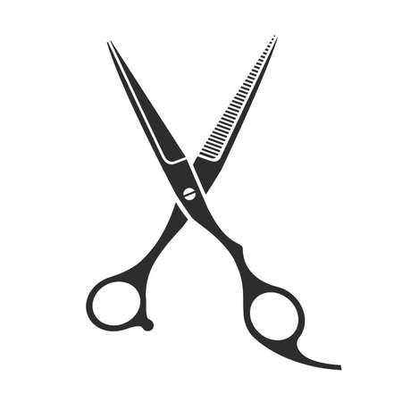 barber scissors: Vintage barber shop scissors