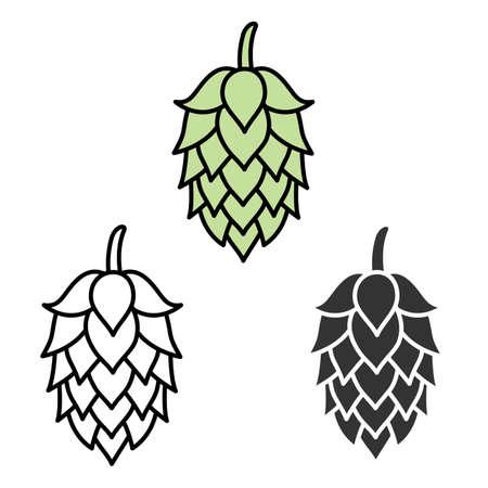 Hop Bier symbol Label