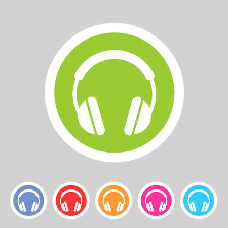 head phones: headphone dj icon sign symbol label