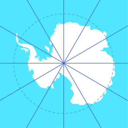 antarctic: Antarctic south pole map antarctica land
