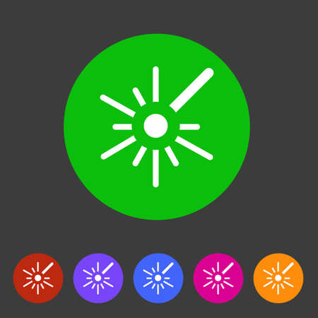 Laser target icon.