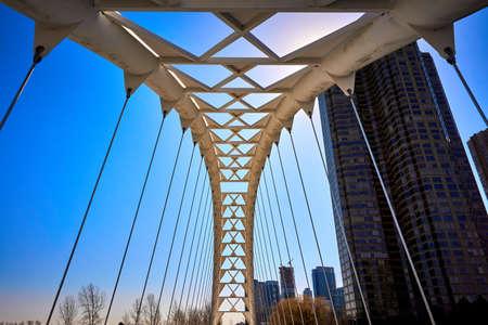 Humber Bay Arch Bridge Toronto(White bridge)