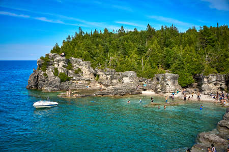 The Grotto Tobermory Bruce Peninsula National Park Ontario Canada