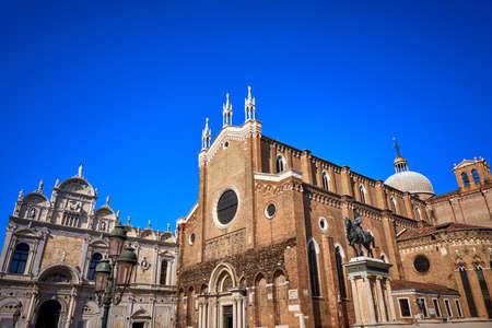 Basilica dei Santi Giovanni e Paolo Venice Italy