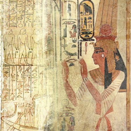 Grunge Egypte ancienne Banque d'images - 29223124