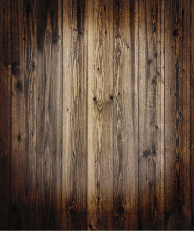 vintage timber: Plank wooden background, textured with grunge effects