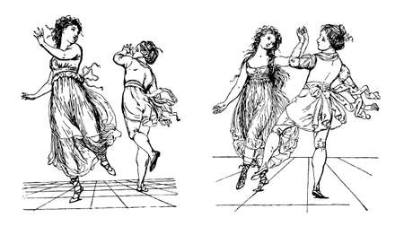 black ancestry: Dance, early 1800