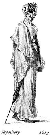 black ancestry: Vintage women fashion illustrated  The Repository London 1813