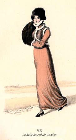 spencer: Vintage ladies fashion from Le Belle Assemble London 1813