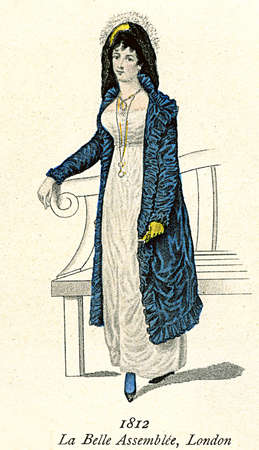 assemble: Vintage ladies fashion from Le Belle Assemble London 1812