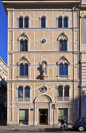 house exchange: Trieste, Italy - Rusconi house in Exchange Square, built on 1860 in renaissance style