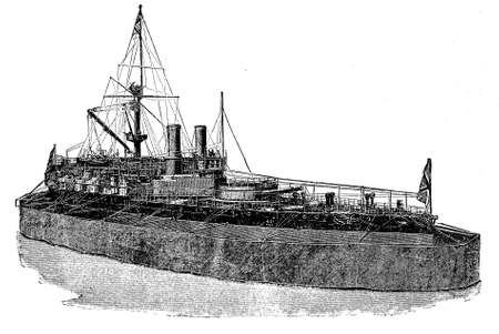 seventeen: english ironclad Victoria, biggest marine monster on 1887, propelled by engines of more than 12,000 horse power to achieve about seventeen knots an hour.