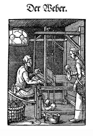 renaissance art: Art and craft, Renaissance workshop: the weaver