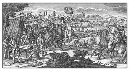 Prussian army camp during the 7 years was (1756? ? ?,?? ? ?1763)