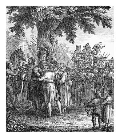 minstrel: Farmers and agricultural workers celebrate the harvest festival, XVIII century