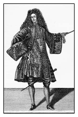 XVIII century, Strasbourg student fashion and clothing style
