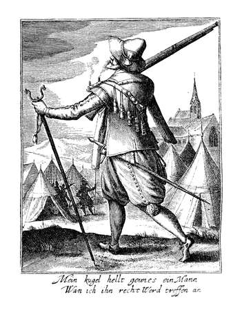 17th: Mercenary soldier at the end of XVII century